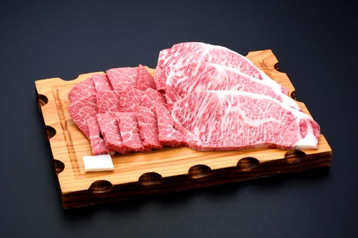 【ふるさと納税】米沢牛焼き肉・ステーキ詰合せ 牛肉 和牛 ブランド牛