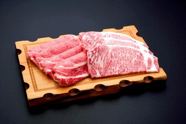 【ふるさと納税】米沢牛しゃぶしゃぶ・ステーキ詰合せ 牛肉 和牛 ブランド牛