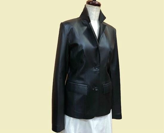 ベテランの職人があなただけの一着を丁寧にお作りします 海外 ふるさと納税 P01-801 羊革 評価 レディースジャケット ご希望のサイズでお作りします