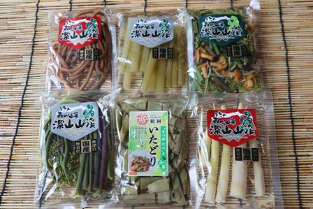 厳選した山形産・国産原料で作った山菜水煮の詰合せです。 【ふるさと納税】A01-753 国産山菜水煮セット(小)