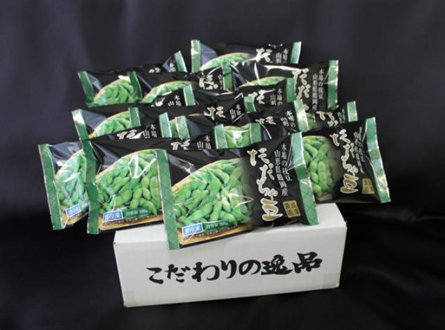 【ふるさと納税】A51-431 冷凍だだちゃ豆 さや付(2.6kg)