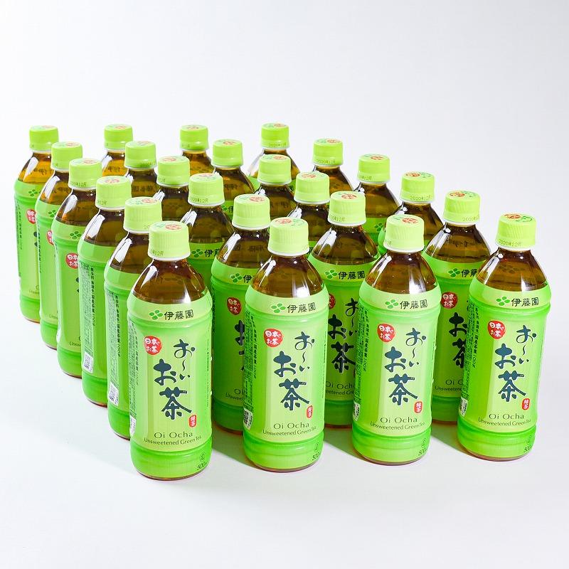 伊藤園 新登場 お~いお茶 は 国産茶葉を100%使用した 香り高く まろやかで味わい深い緑茶飲料です 500mlペットボトル PET 送料無料 店 24本 1箱 ふるさと納税 500ml おーいお茶 ペットボトル