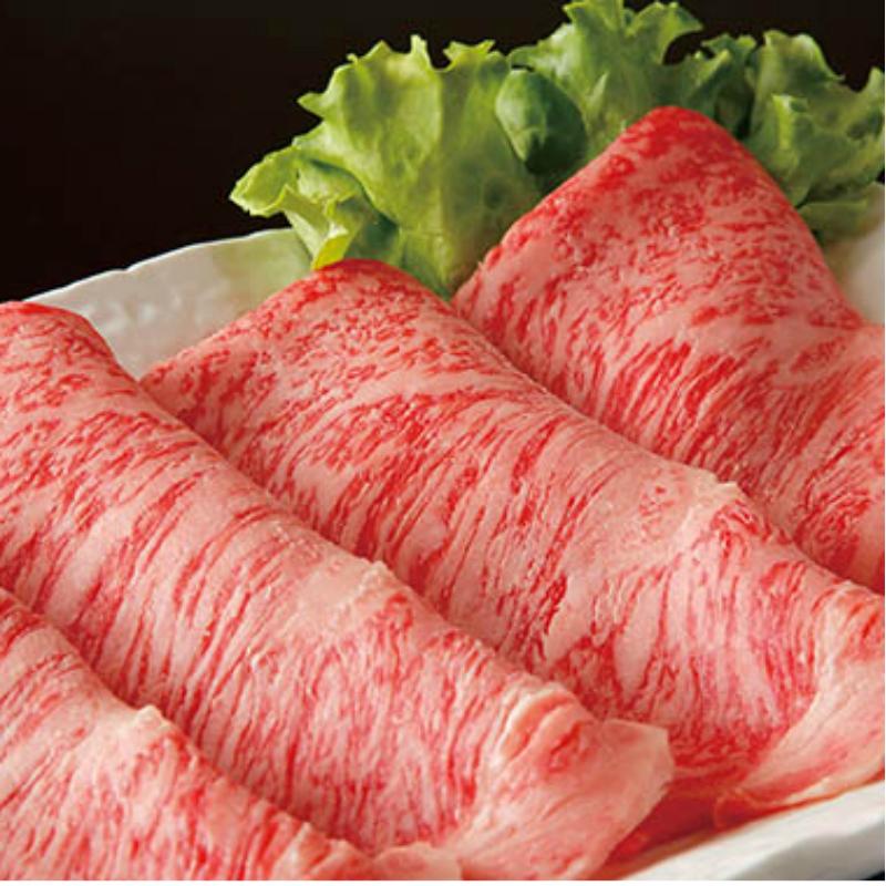 【ふるさと納税】特選山形牛 ローススライスすき焼き用800g(400g×2袋)