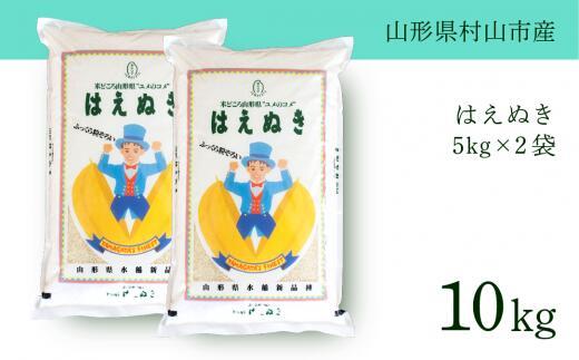 【ふるさと納税】はえぬき 令和元年産米 山形県村山産はえぬき 10kg