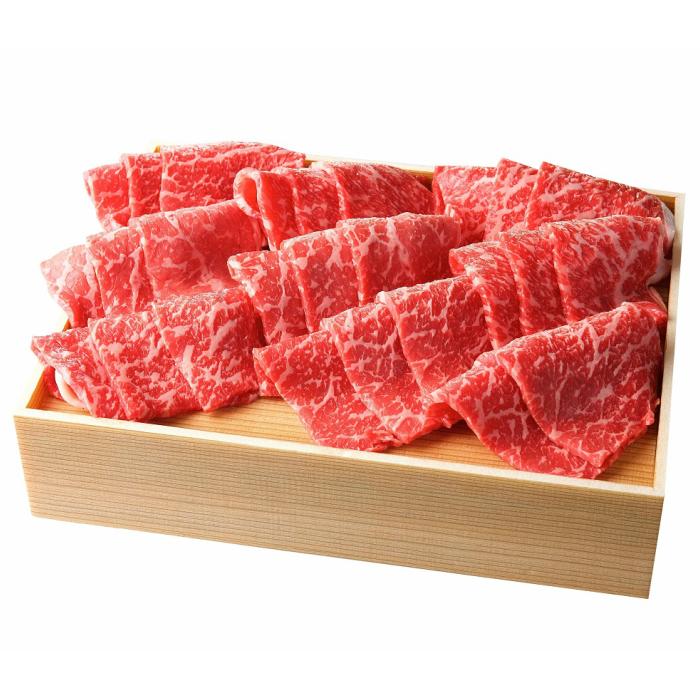 【ふるさと納税】B-0008 山形牛(東根産)もも焼き肉用800g