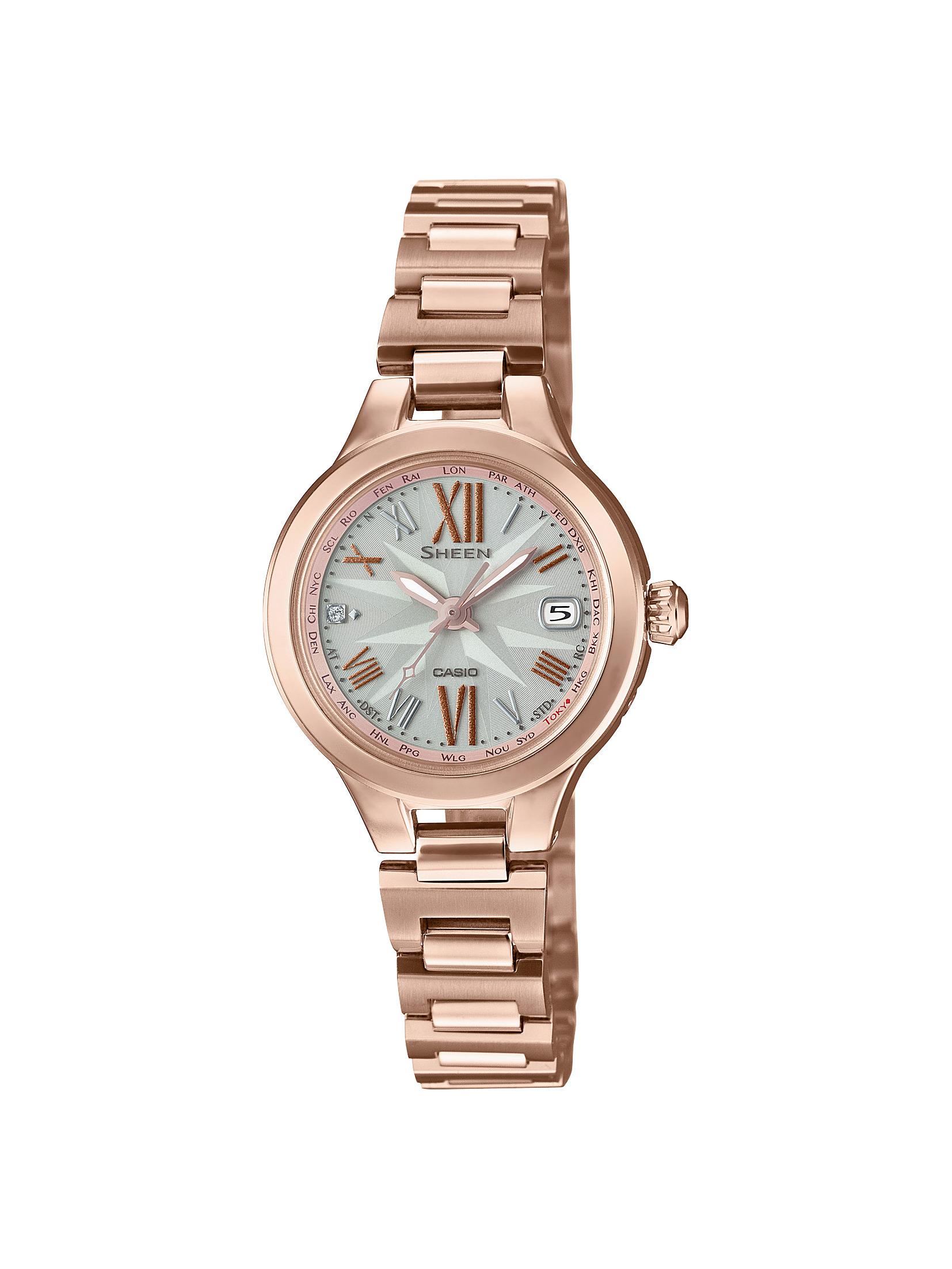 ふるさと納税 CASIO腕時計 SHEEN SHW-1750CG-4AJF (人気激安) 新作 大人気 C-0129