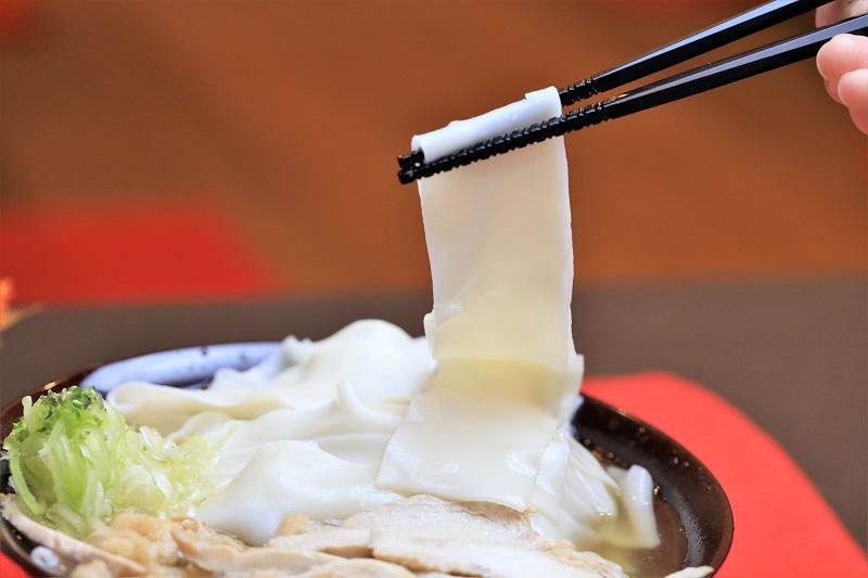 【ふるさと納税】かほく谷地の冷たい肉帯麺(うどん)(生麺8人前)