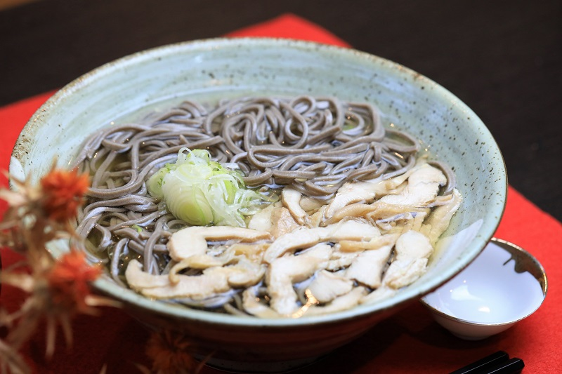 【ふるさと納税】かほく谷地の冷たい肉そば(生麺8人前)