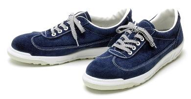 【ふるさと納税】青木安全靴SK110 【ベロアを使用したスニーカータイプ】