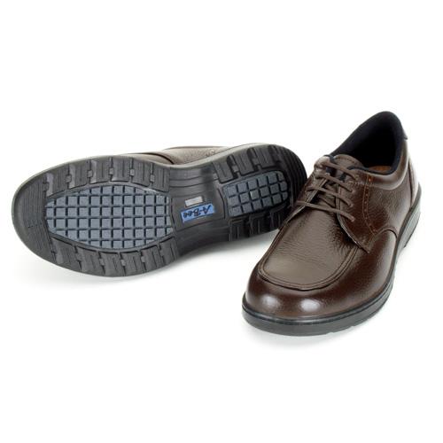 【ふるさと納税】青木安全靴 A-Bee01【ゆったり幅広設計糖尿病足対応靴】ブラウン