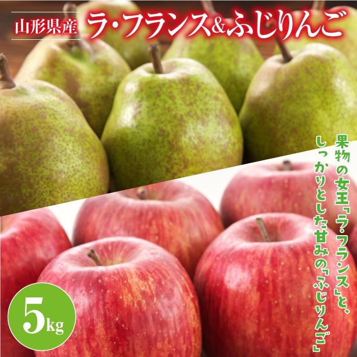 直営ストア ふるさと納税 数量限定 《先行予約》山形県産 ラフランス 安心の実績 高価 買取 強化中 5kg FYN9-384 ふじりんご