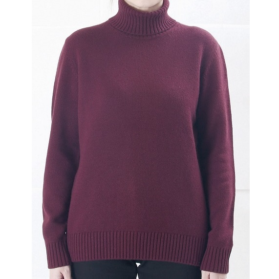 【ふるさと納税】大江職人手動編み オーダーメイドカシミア100% ニットタートルセーター 【ファッション・セーター・男女兼用】