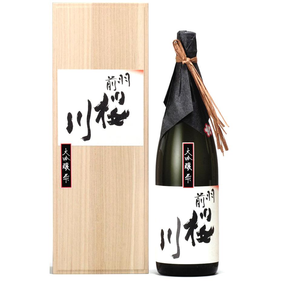 【ふるさと納税】羽前桜川 大吟醸「雫」 1,800ml