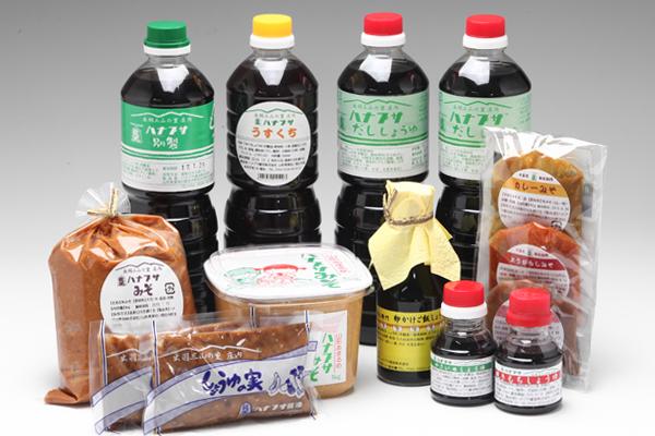 【ふるさと納税】醤油と味噌の調味料セット