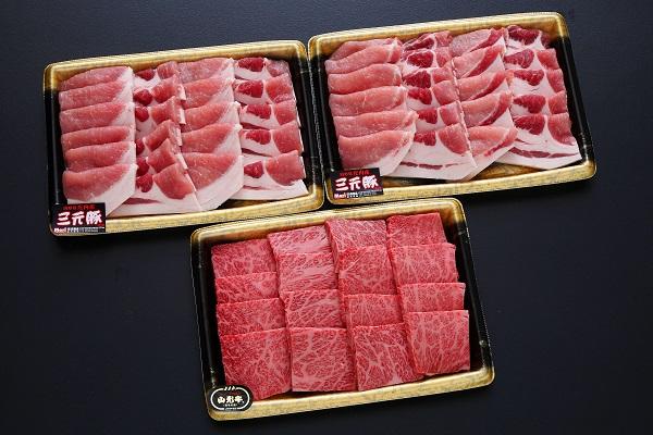 【ふるさと納税】庄内豚と山形牛の焼肉セット