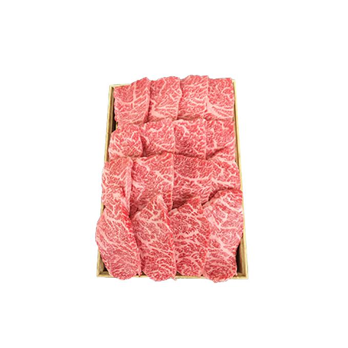 福島県郡山市 ふるさと納税 桜八 うねめ牛 A5等級もも焼肉用 メーカー直売 牛肉 使い勝手の良い もも肉 お肉 520g