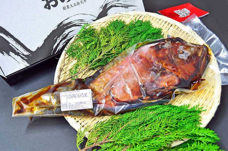 【ふるさと納税】高級煮魚(特大金目姿煮1尾)