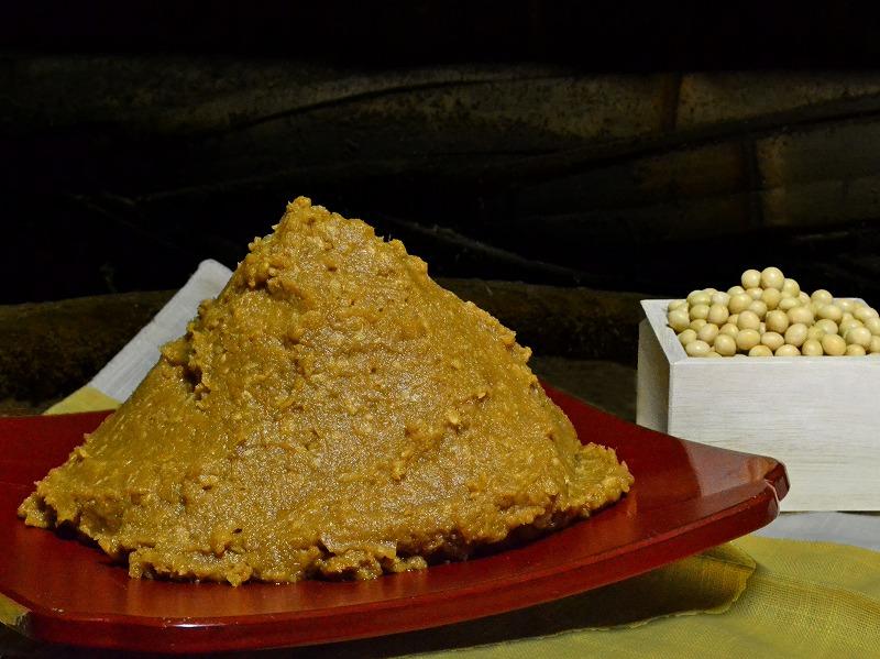 【ふるさと納税】十六ヶ月仕込み玄米味噌 5kg