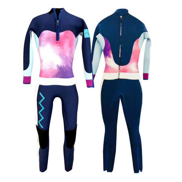 【ふるさと納税】レディース ダイビングウェットスーツ-YULA-【Mサイズ】【14015】