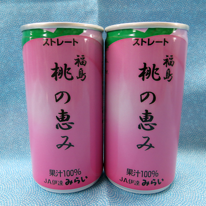 【ふるさと納税】果汁100%ジュース「福島桃の恵み」190g×40本