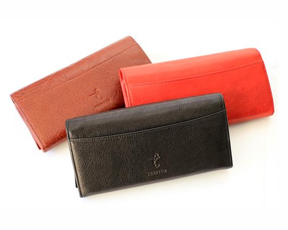 【ふるさと納税】No.039 【黒】革製品ワイドコインウォレット(財布)