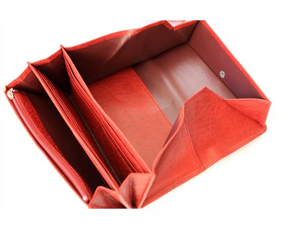 【ふるさと納税】No.041 【黒】革製品ギャルソンウォレット(財布)
