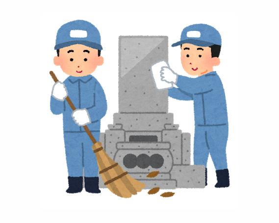 【ふるさと納税】No.061 お墓管理サービス(年3回) / 代行 お墓掃除 清掃 福島県