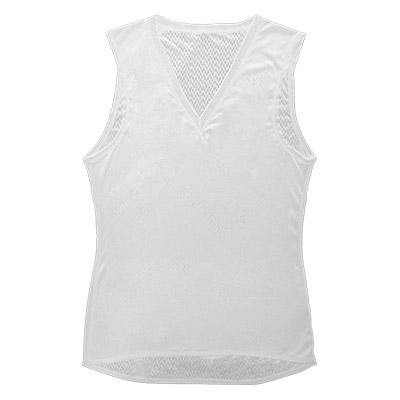 着用することで体のリカバリーをやさしくサポート。運動や仕事で疲れる体をサポートする次世代のウェア 【ふるさと納税】リカバリーウェア A.A.TH / ノースリーブアンダー ※カラー:ホワイト/ サイズ M【1067568】