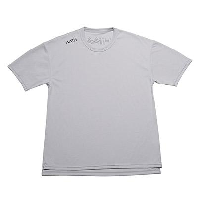 【ふるさと納税】リカバリーウェア A.A.TH / ハーフ Tシャツ ※カラー:クール グレイ/ サイズ O【1067576】