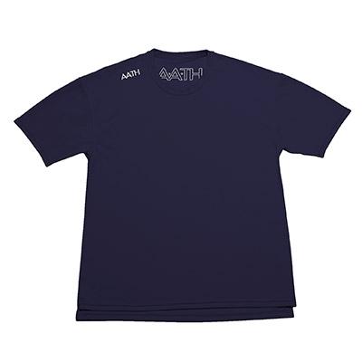 【ふるさと納税】リカバリーウェア A.A.TH / ハーフ Tシャツ ※カラー:ネイビー/ サイズ L【1067583】