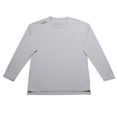 【ふるさと納税】リカバリーウェア A.A.TH / ロング Tシャツ ※カラー:クール グレイ/ サイズ O【1067589】
