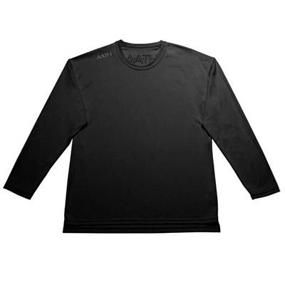 【ふるさと納税】リカバリーウェア A.A.TH / ロング Tシャツ ※カラー:ブラック/ サイズ M【1067592】