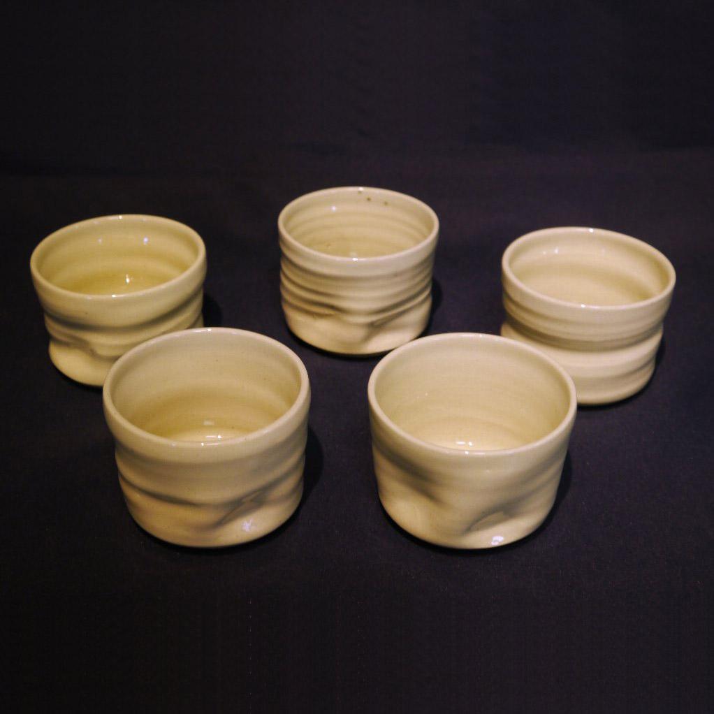 【ふるさと納税】会津本郷焼 湯呑み(5客)400年の歴史を誇る伝統工芸品