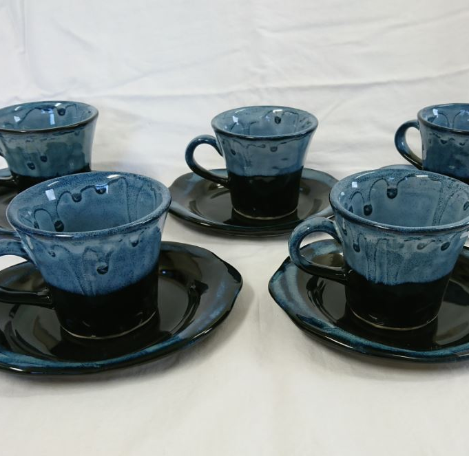 【ふるさと納税】会津本郷焼 コーヒーカップセット400年の歴史を誇る伝統工芸品