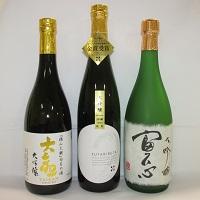 【ふるさと納税】F-1 日立の地酒「大吟醸」飲み比べセット