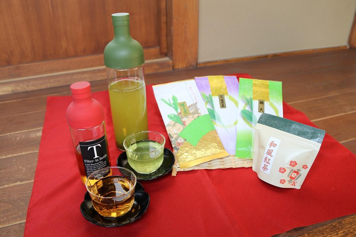 茨城県古河市 【ふるさと納税】BA05_水出しでおもてなし!さしま茶...