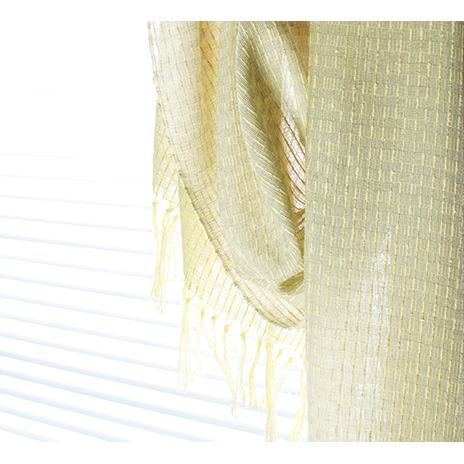 【ふるさと納税】結城紬 一年中ショール(時雨)糸遊ーいとゆう 【ファッション小物・ファッション・ショール】