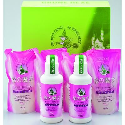 EC業界でも人気の一石二鳥な環境配慮型洗剤です ふるさと納税 緑の魔女ギフトセット 期間限定特別価格 1212600 MJ-50 絶品