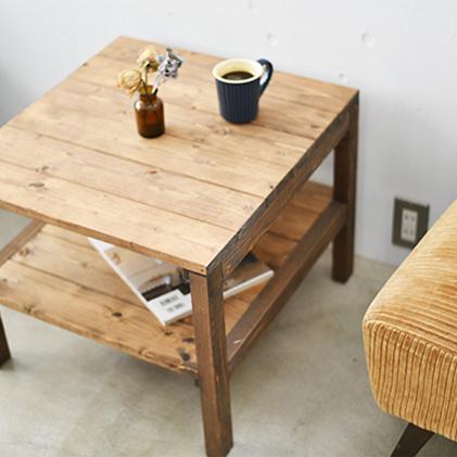【ふるさと納税】コーヒーテーブル 1~2人用 【雑貨・日用品・インテリア】