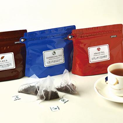 【ふるさと納税】守谷ブレンドティー&奥久慈紅茶セット(ティーバッグ各10包) 【紅茶・ティーバッグ】