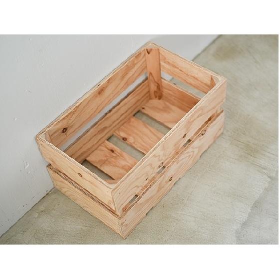 【ふるさと納税】木箱 ベジタブルボックス Lサイズ 【雑貨・日用品・インテリア】