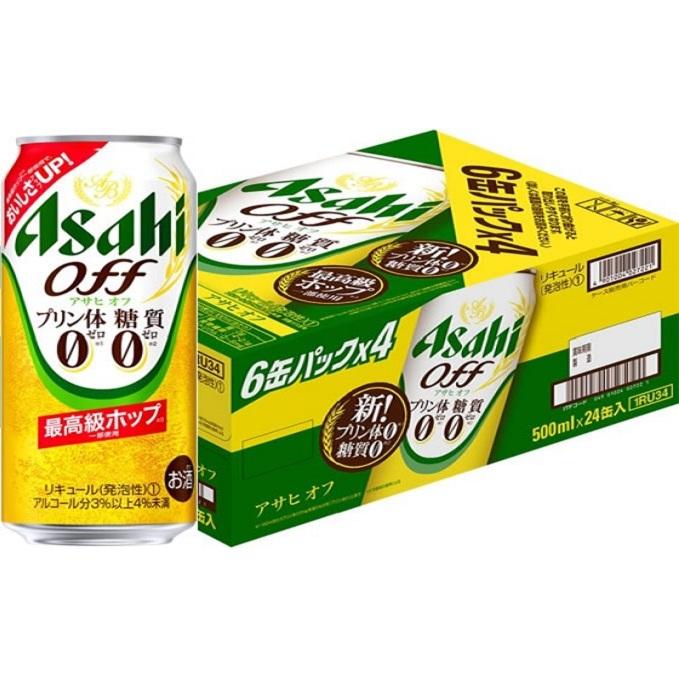 アルコール 発泡酒 【お酒・ビール・麦酒 beer zero 500ml×24本(1ケース) Asahi 【ふるさと納税】アサヒ off】 ケース アサヒオフ