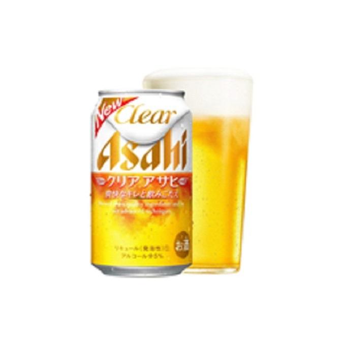 【ふるさと納税】新ジャンル!クリアアサヒ350ml×24本 【お酒·ビール·麦酒 beer Asahi ケース アルコール 発泡酒 clear clearasahi】