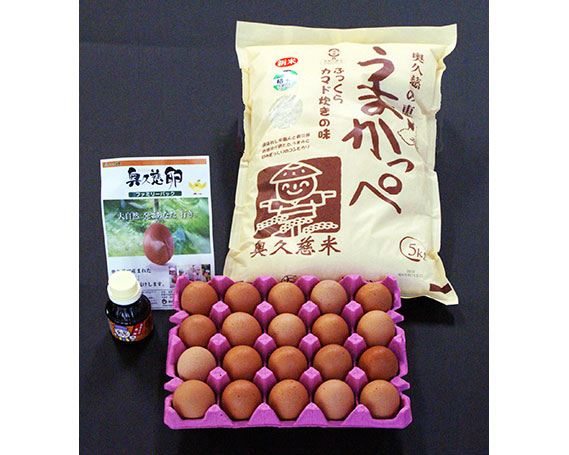【ふるさと納税】No.015 (うまかっぺ米と奥久慈卵でいただく) 極上TKG (卵かけご飯)セット / お米 こしひかり コシヒカリ 卵かけ醤油 安全