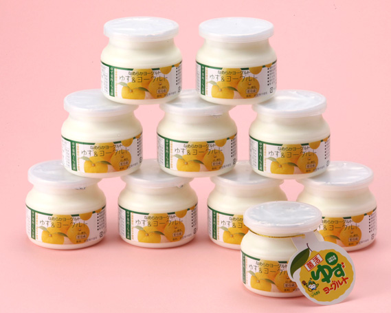 【ふるさと納税】No.040 ゆずヨーグルトセット / 柚子 乳製品 新鮮 安全