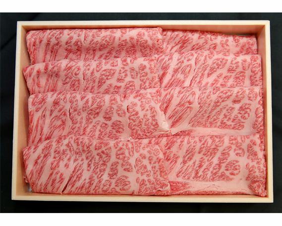 【ふるさと納税】No.100 瑞穂農場で育てた常陸牛肩ロースすき焼きセット 約700g / 牛肉 すきやき 霜降り ブランド牛 A4 A5