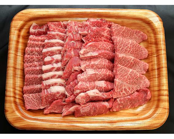 【ふるさと納税】No.103 瑞穂農場で育てた常陸牛焼肉セット 約800g / 牛肉 やきにく 肩ロース バラ モモ ブランド牛 A4 A5