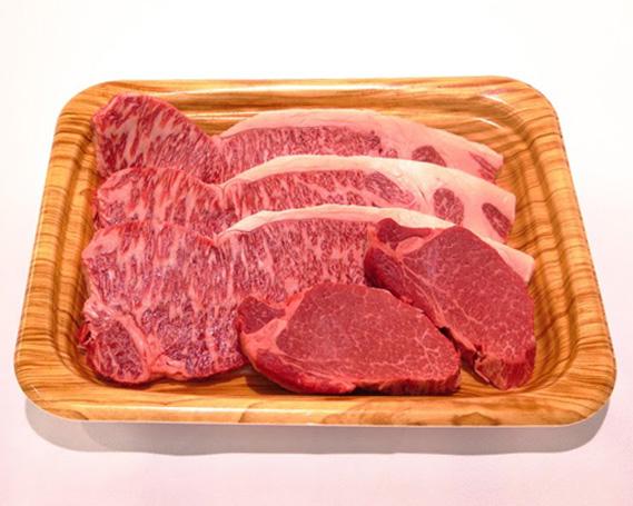 【ふるさと納税】No.112 瑞穂農場で育てた常陸牛ロース、ヒレステーキセット 約970g / 牛肉 ブランド牛 A4 A5
