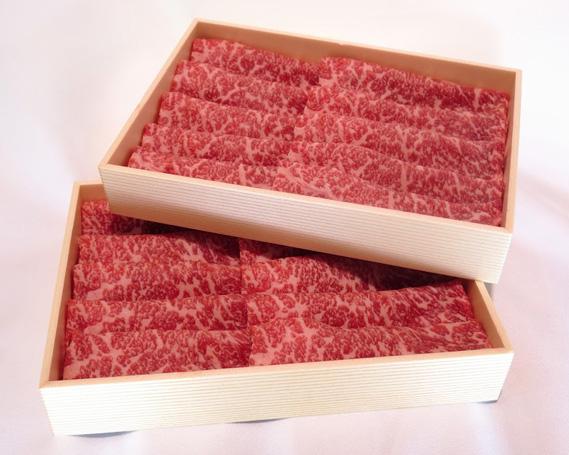 【ふるさと納税】No.114 瑞穂農場で育てた常陸牛ローススライスセット 約1kg / 牛肉 霜降り ブランド牛 A4 A5