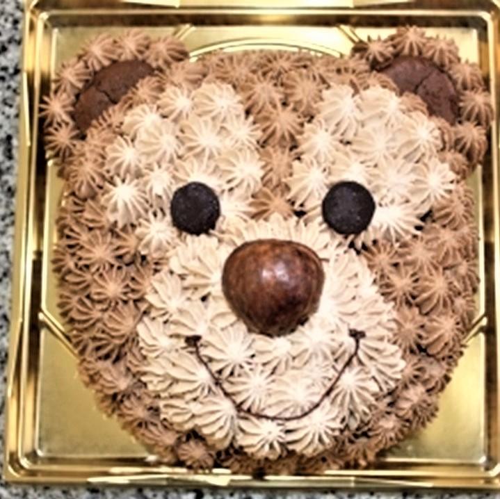 【ふるさと納税】☆こぐまのデコレーションケーキ(5号)